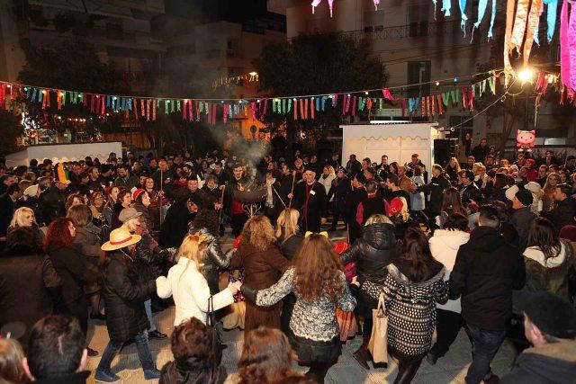 Carnival in Kozani, Greece