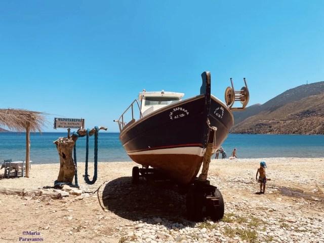Greek kaikia boats