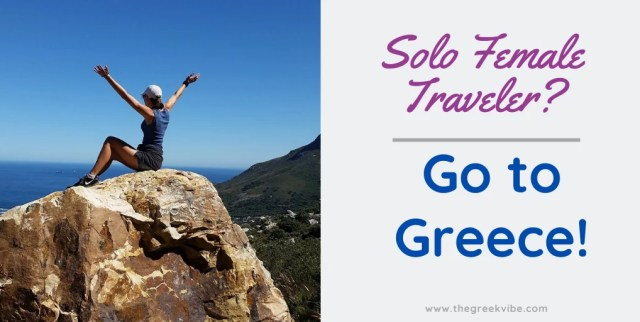 Solo female travel Greece