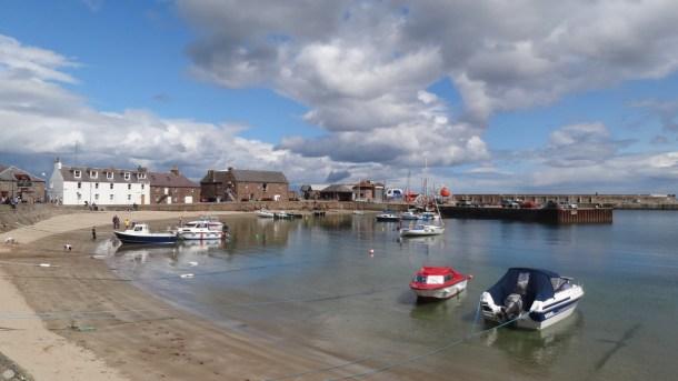 Stonehaven marina