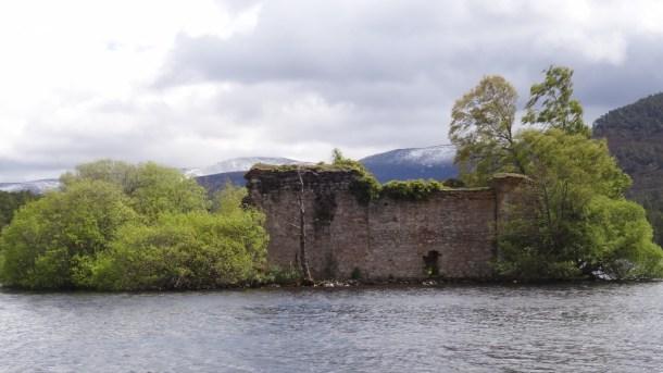 Ruins of the Loch an Eilein Castle