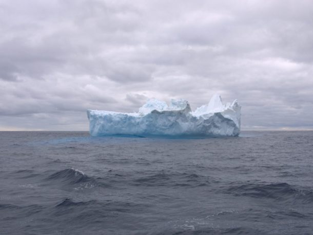 Infinity Expedition -Another one of the countless icebergs