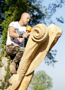 Jan-Carel Koster - The Green Circle - Workshops in de Natuur - Beeldhouwen in Hout en Steen