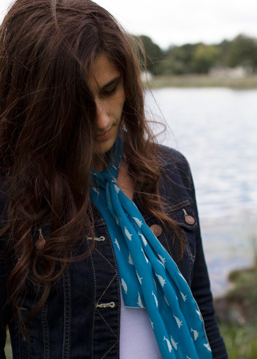 Kindred Belle Whale Scarf