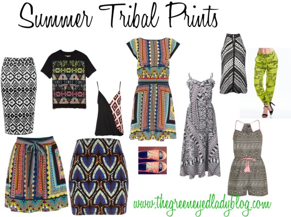 Summer Tribal Prints