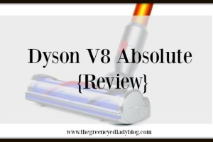 Kids & the Dyson V8 Absolute {Review}