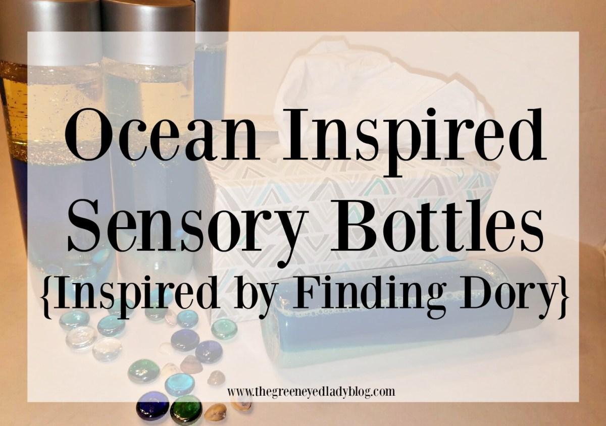 Ocean Inspired Sensory Bottles {Inspired by Finding Dory}