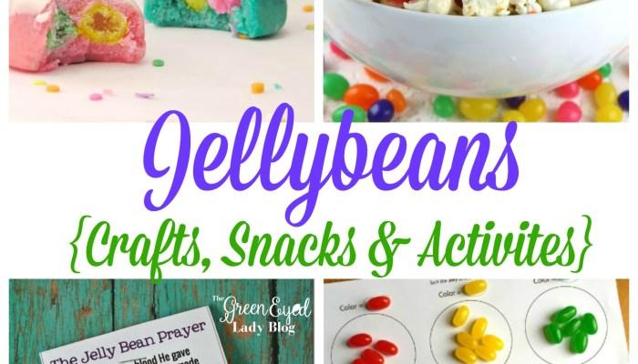 Jellybeans {Crafts, Snacks & Activities}