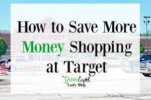 How to Save More Money Shopping at Target