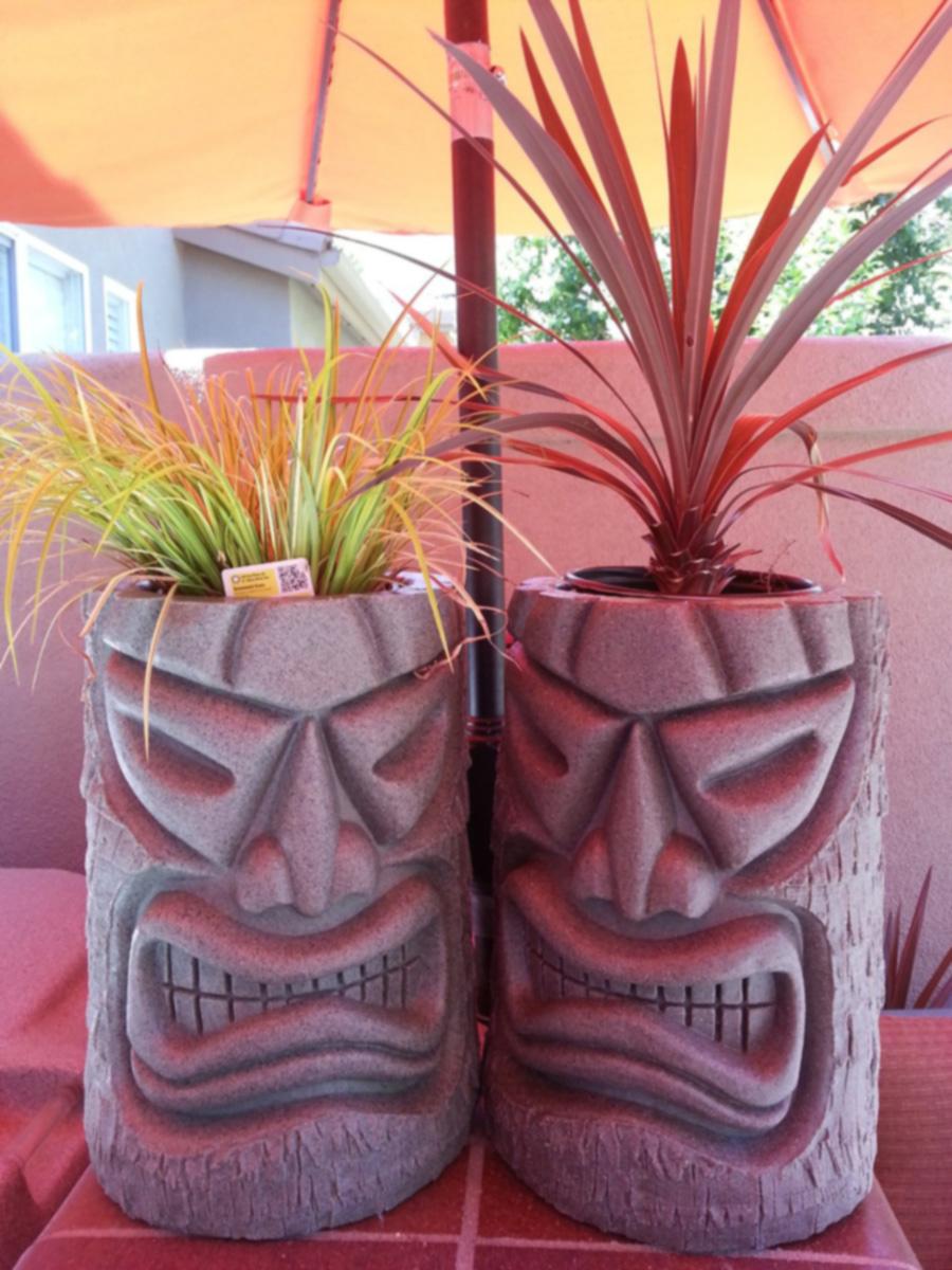 Angry Tiki Planter