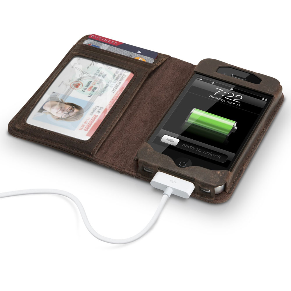 BookBook Leather IPhone Case And Wallet The Green Head