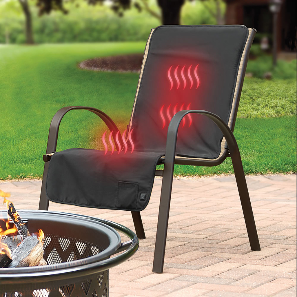 cordless heated patio chair cover