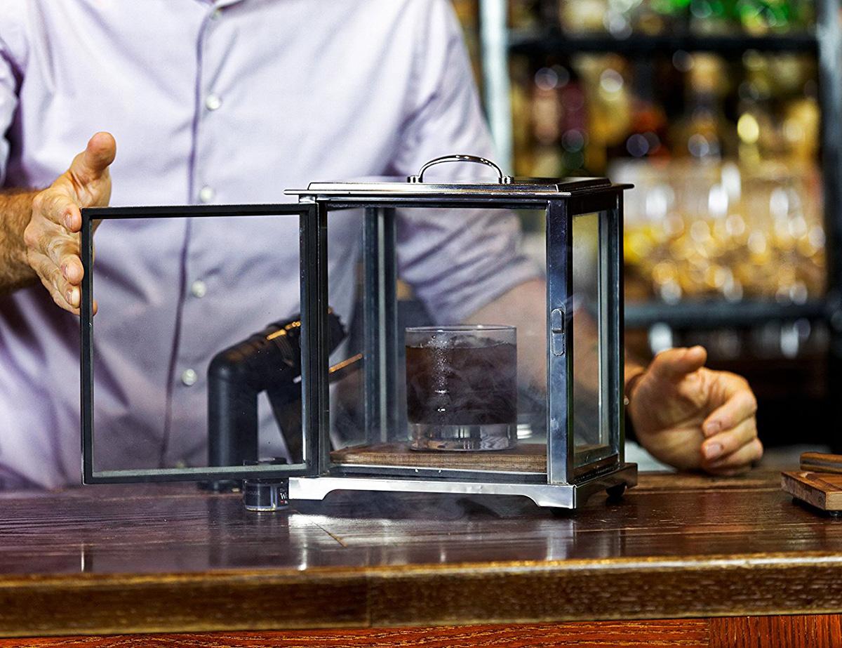 Crafthouse Cocktail Smoking Box With Smoke Gun The Green Head
