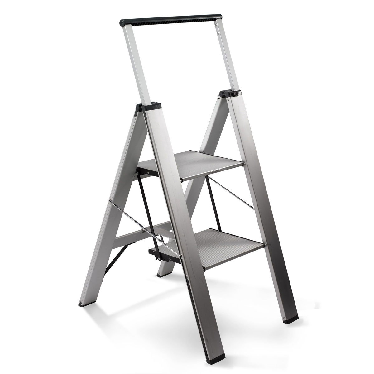 Heavy Duty Slimline Step Ladder The Green Head