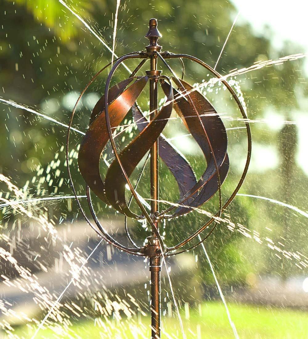 Hydro Ball Wind Spinner Garden Sprinkler