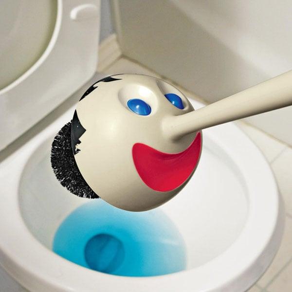 Pinocchio Toilet Brush The Green Head