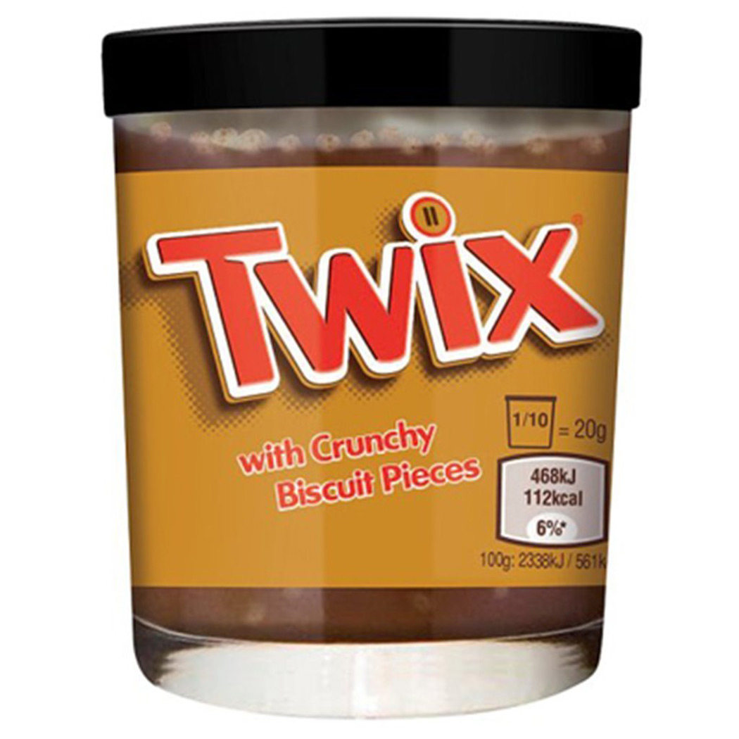 Twix Spread With Crunchy Biscuit Pieces The Green Head