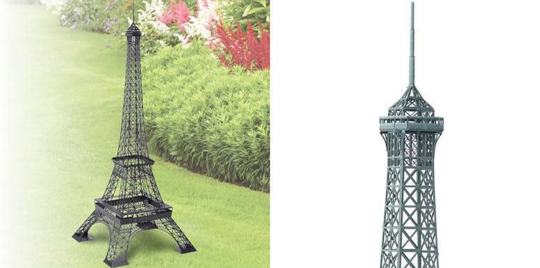 Backyard Eiffel Tower The Green Head