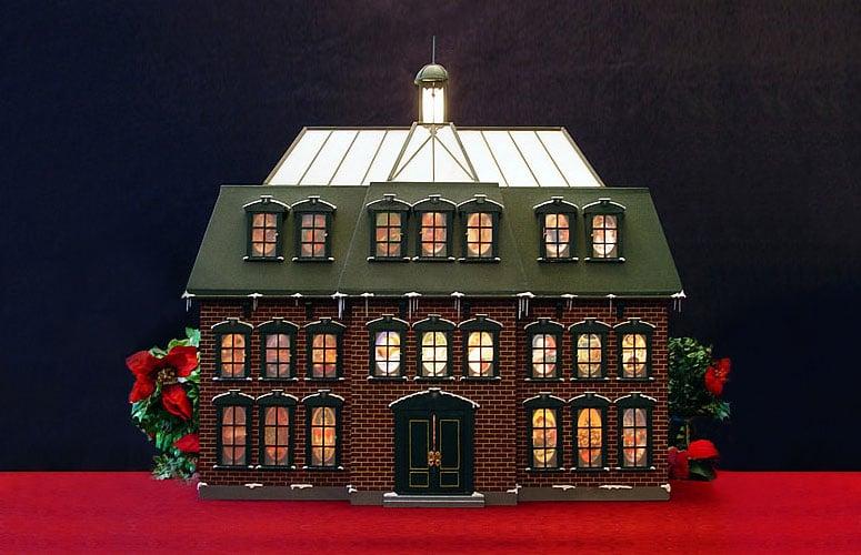 Christmas Advent House Calendar The Green Head