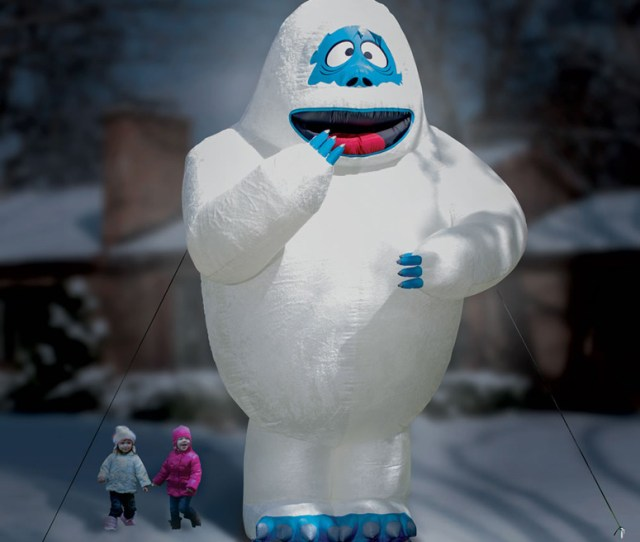 Gigantic  Foot Inflatable Bumble The Abominable Snow Monster