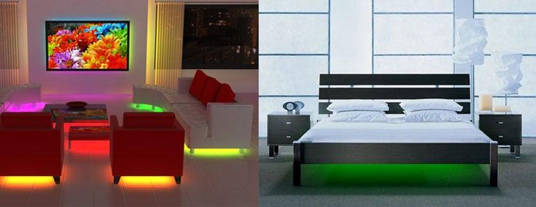 Coffee Table Led Lights