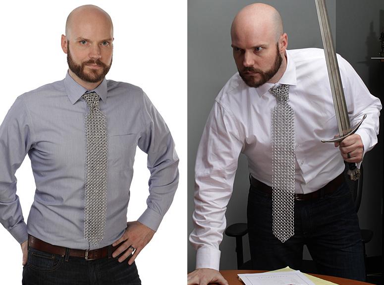 Led Light Neckties