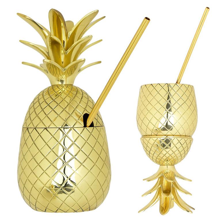 Pineapple Garden Decor