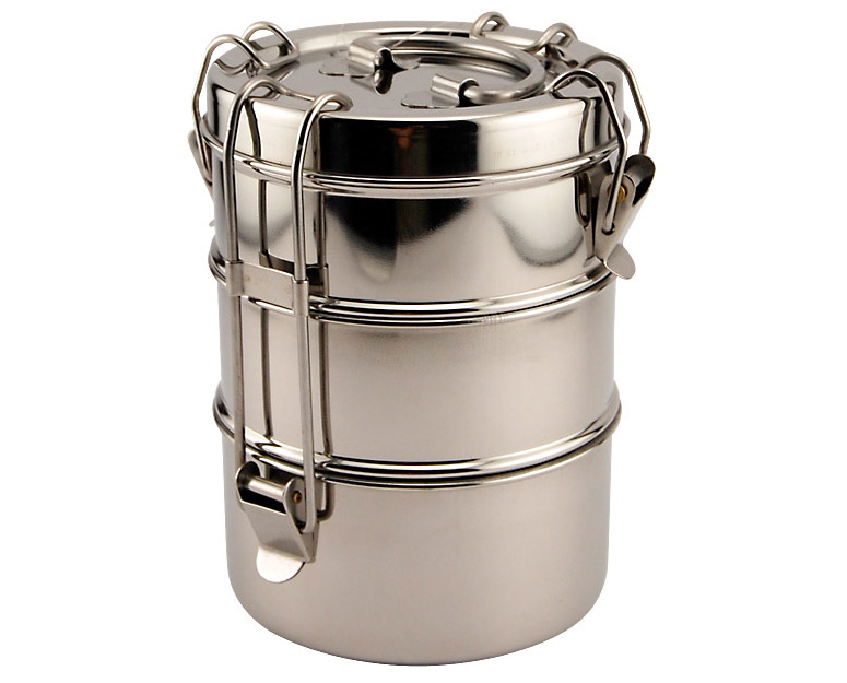 Stainless Steel Tiffin Box Food Carrier The Green Head