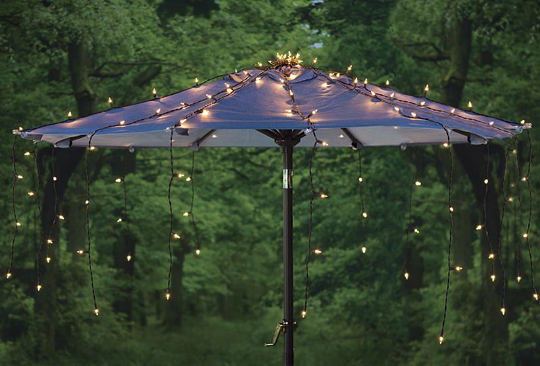 Waterfall Umbrella Canopy Light Cover The Green Head