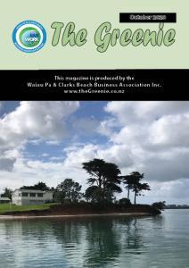 The Greenie - October 2020