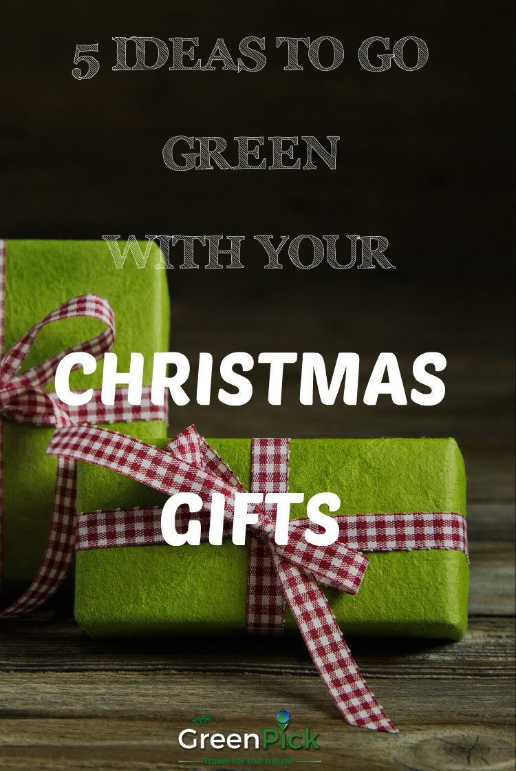 Go green gifts for christmas