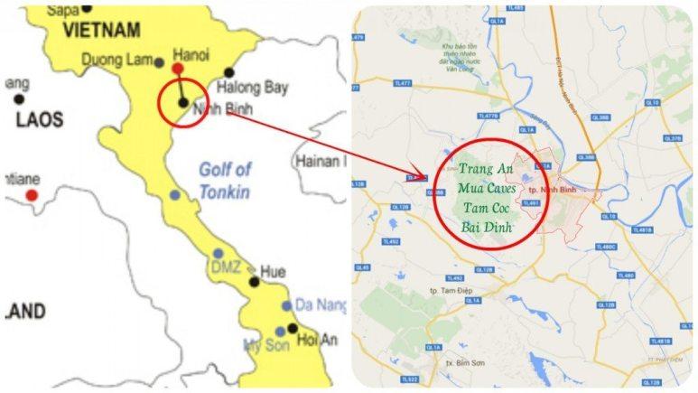ninh binh where vietnam