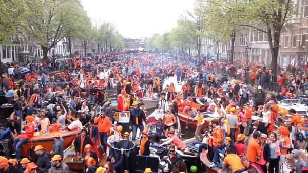 bateau fête du roi amsterdam