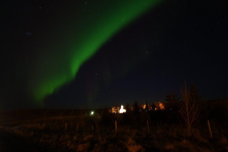aurores boréales islande