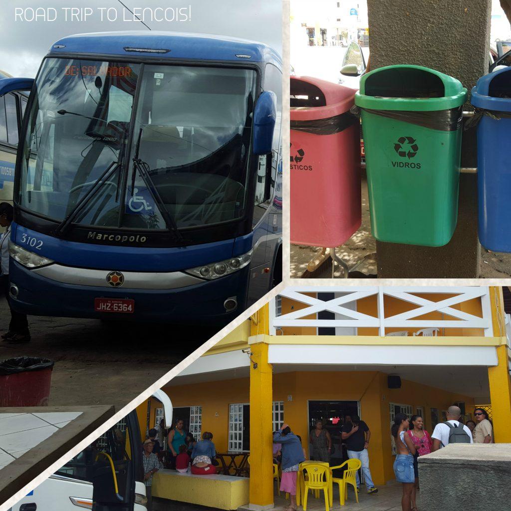 bus rapido federal lencois salvador brazil