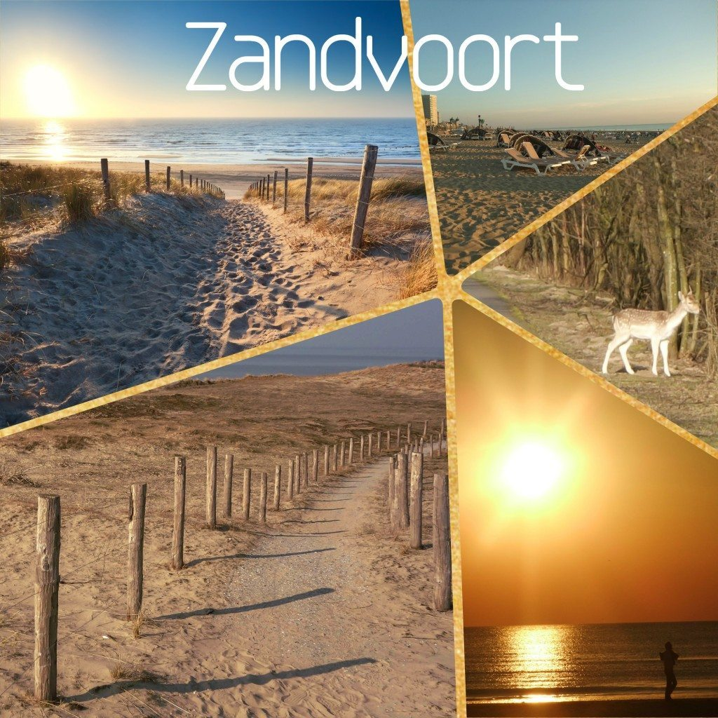 zandvoort beach near amsterdam netherlands holland sea