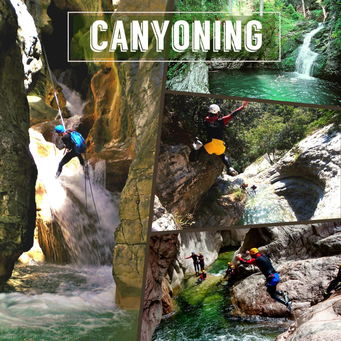 canyoning nice cannes