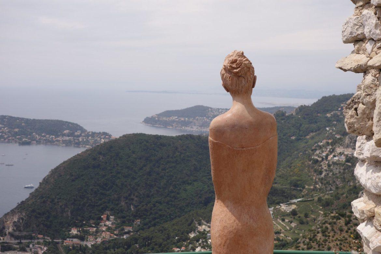 eze village statue jardin exotique cote d'azur