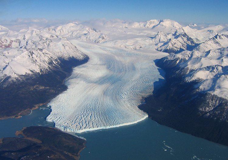 patagonie champs de glace