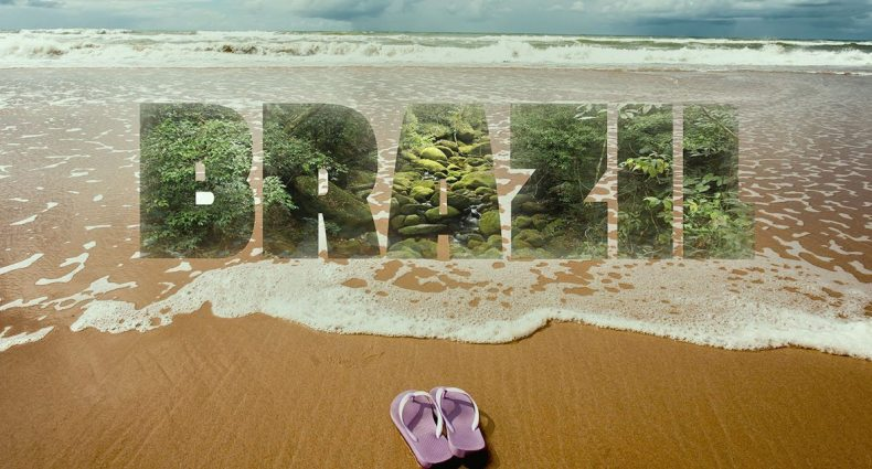 brazil beach havaianas