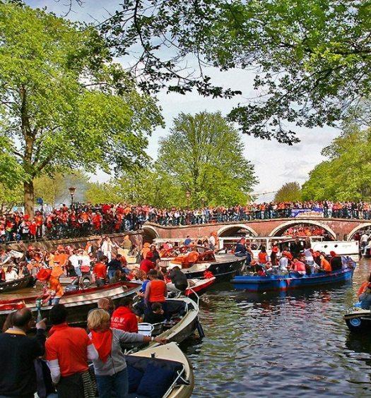 king's day jour du roi fete du roi amsterdam