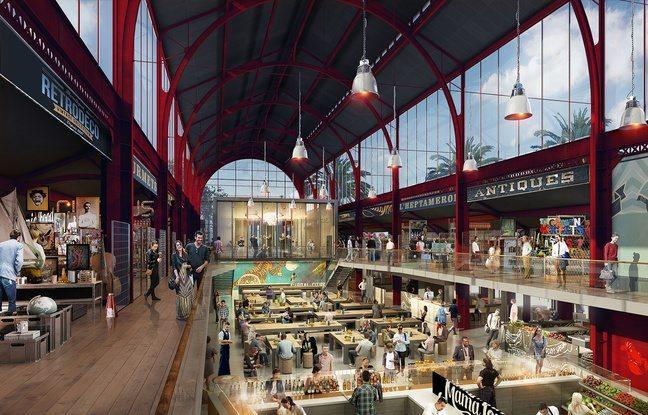 gare du sud nice Nice south railway station food court