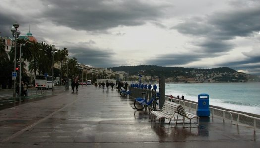 Help!!! It's raining on the French Riviera!