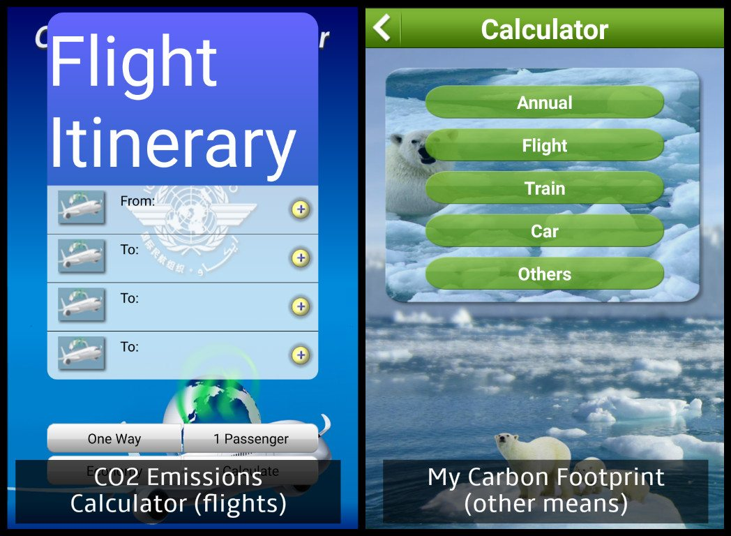 carbon footprint calculator app