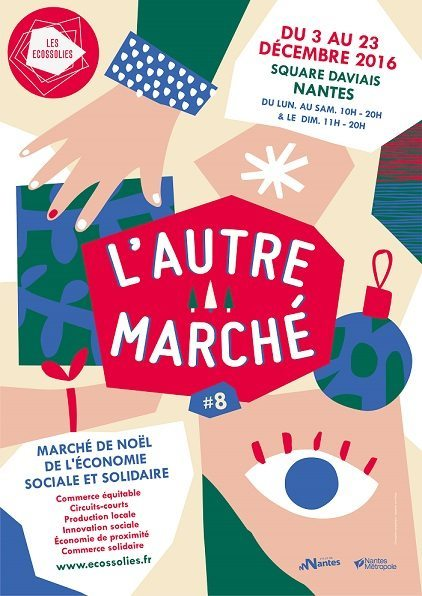 most sustainable christmas markets in europe autre marché de noel nantes ecossolies