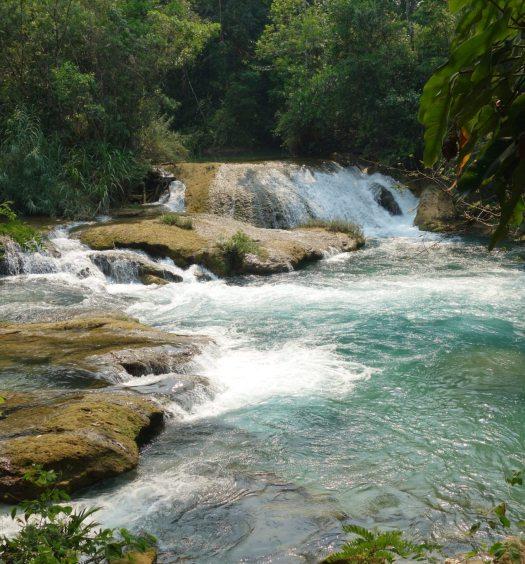 palenque agua azul mexique que faire tourisme