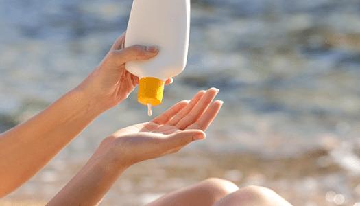 La crème solaire chimique :  poison des vacances