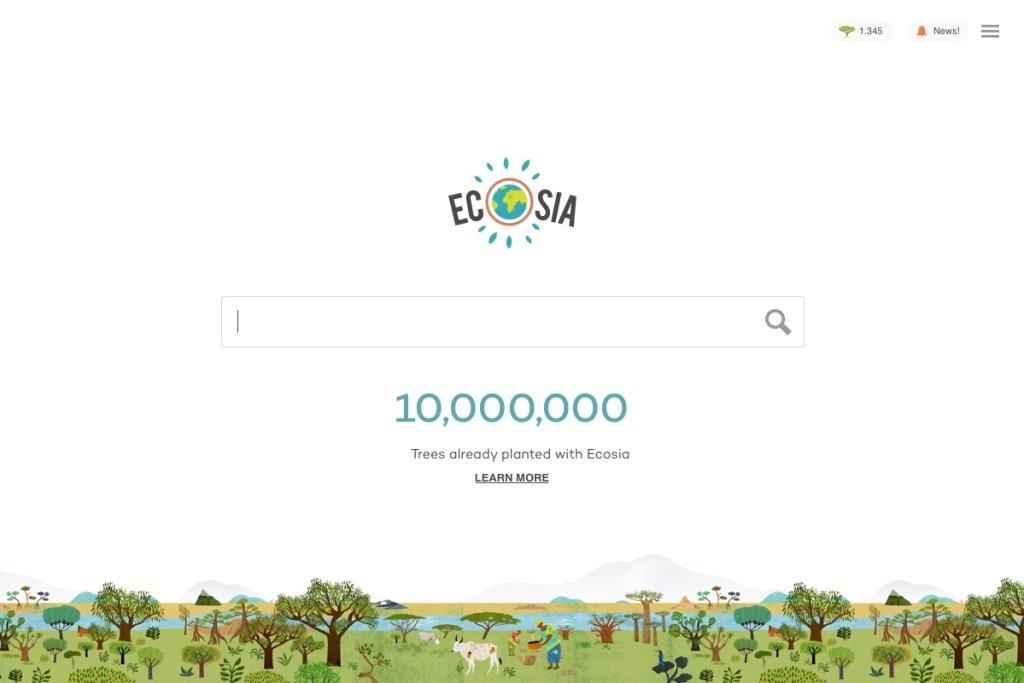 ecosia moteur de recherche