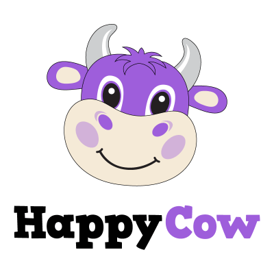happy cow logo apps to go green