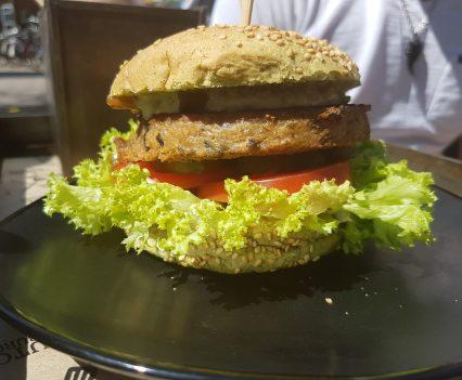 dutch weed burger vegan amsterdam